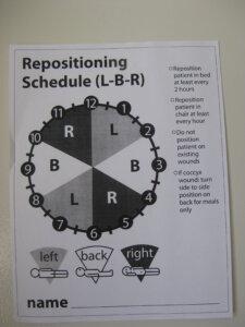 Repositioning Schedule
